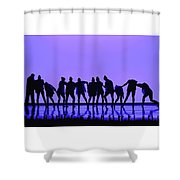 I Don't Let You Down Shower Curtain
