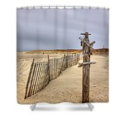 I Dream Of Maui... Shower Curtain by Evelina Kremsdorf