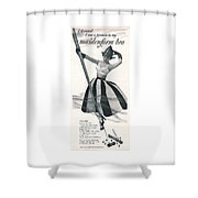 I Dreamed I Was A Fireman In My Maidenform Bra Shower Curtain