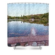 I Dreamed Of A Lake Shower Curtain