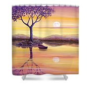 I Dreamt Of The Moon Shower Curtain