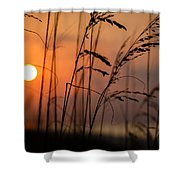 I Feel The Summer Breeze Shower Curtain