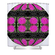 I Give To You A World Of Flowers Shower Curtain