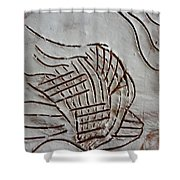 I Have A Dream - Tile Shower Curtain