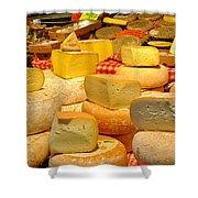 I Love Cheese Shower Curtain