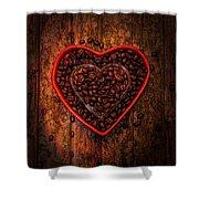 I Love Coffee 4 Shower Curtain
