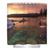 I Love Lake Tahoe Shower Curtain