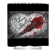 I Love Lucille Shower Curtain