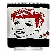 I Love Lucy Shower Curtain