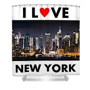 I Love New York Shower Curtain