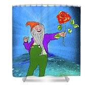 I Love You More Shower Curtain