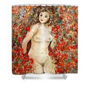I Never Promised You A Rose Garden Shower Curtain