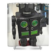 I Robot Shower Curtain
