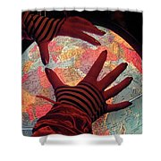 I See Travel In Your Future Shower Curtain