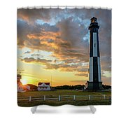 I Stand Relieved Shower Curtain