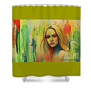 I Think About You_x Shower Curtain