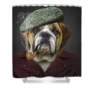 I Totally Agree Shower Curtain by Kathy Tarochione