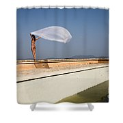 I Will Fly To You Shower Curtain