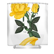 I Will Remember Shower Curtain