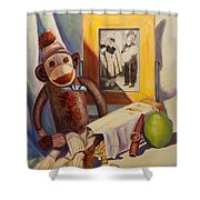 I Will Remember You Shower Curtain