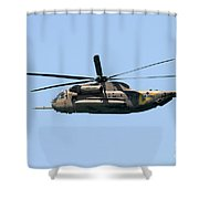 Iaf Sikorsky Ch-53 Helicopters Shower Curtain