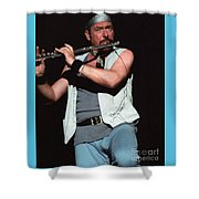 Ian Anderson Of Jethro Tull Shower Curtain