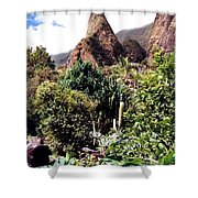 Iao Needle Shower Curtain