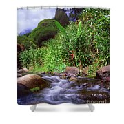 Maui Hawaii Iao Valley State Park Shower Curtain
