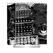 Ibanez Guitar Shower Curtain