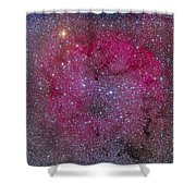 Ic 1396 And Garnet Star In Cepheus Shower Curtain