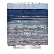 Icarus Flying Shower Curtain