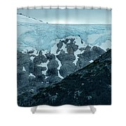 Ice And Rock Shower Curtain