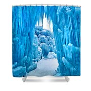 Ice Arch Shower Curtain