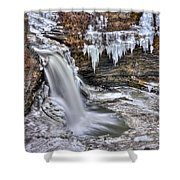 Ice Breaker Shower Curtain
