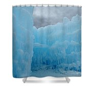 Ice Castles In Lincoln New Hampshire -1 Shower Curtain