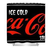 Ice Cold Coke 8 Coca Cola Art Shower Curtain