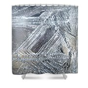 Ice-cold Morning Fantasy Shower Curtain