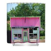 Ice Cream Parlor Shower Curtain