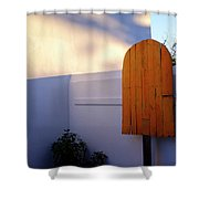 Ice Cream Shop Wooden Popsicle In Saint Augustine Florida Shower Curtain