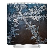 Ice Crossing Shower Curtain