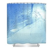 Ice Detail Shower Curtain