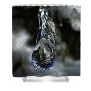 Ice Drop Shower Curtain