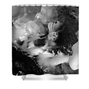 Ice In Cave Shower Curtain