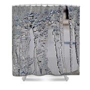 Ice Jail Shower Curtain