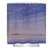 Ice Lake Shower Curtain