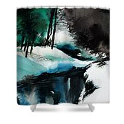 Ice Land Shower Curtain