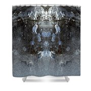 Ice Mass Two  Shower Curtain