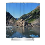 Ice On The Water Shower Curtain