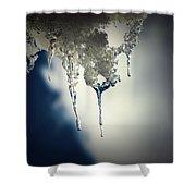 Ice Photo 4 Shower Curtain