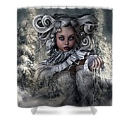 Ice Princess 004 Shower Curtain